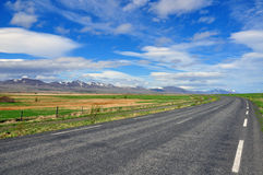 Road, mountain, horizon Stock Photos