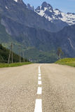 Road,in the mountain. Royalty Free Stock Photos