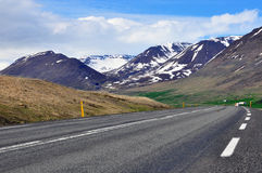 Road and mountain Royalty Free Stock Images