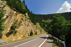 Road in the Mountains Stock Photos
