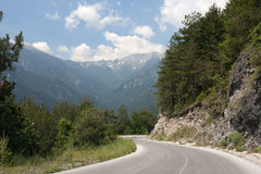 Road in Mountains Stock Photos