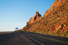 Road through mountains Royalty Free Stock Photo