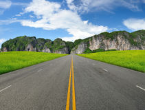 Road in mountains Royalty Free Stock Image