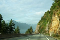 Road mountains Royalty Free Stock Photography