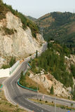 Road in the Mountains. (Almaty Kazahstan Royalty Free Stock Image