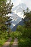 Road in mountains, Caucasus Stock Photos