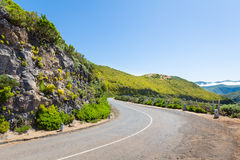 Road in mountains Royalty Free Stock Images