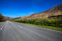 Road through Glencoe Stock Images