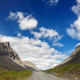 Road in the mountains of Khibiny, Kola Peninsula,. Russia Stock Photo