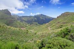 Road at mountains of Majorka Spain Stock Photo