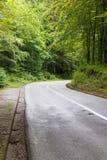Road in mountains near Budva Stock Photography