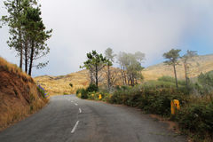 road through the mountains Stock Photos