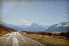 Road of the mountains Royalty Free Stock Photography