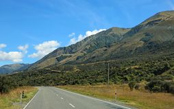 Road on the mountains Royalty Free Stock Photography