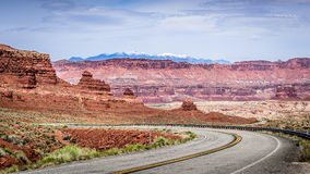Road in the Mountains Royalty Free Stock Photos