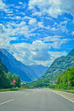 Road in mountains Royalty Free Stock Photography