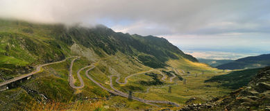 Road in the Mountains - Transfagarasan Stock Photography
