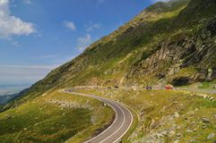 Road in the Mountains - Transfagarasan Stock Images