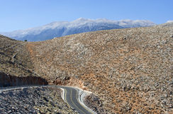 Road in the mountains - RAW format Stock Photography