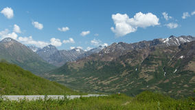 Road through the Mountains Stock Photography