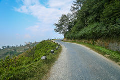 Road in Nagarkot Royalty Free Stock Photo