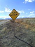 Road Narrows Stock Photo