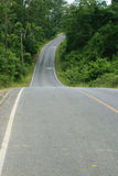 Road in the National Park. Thailand Royalty Free Stock Photo