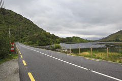 Road in National park Connemara. Stock Images