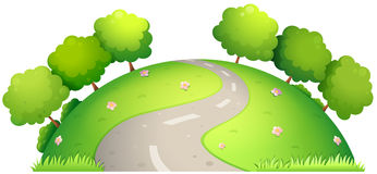 Road and nature Royalty Free Stock Photography