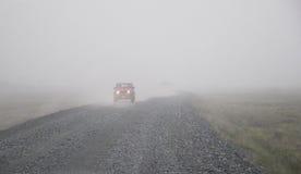 Road near Eyjafjallajokull Stock Image