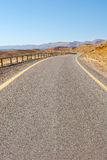 Road in the Negev Stock Images