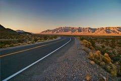 Road in Nevada Stock Photos