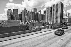 Road of New York City Stock Image