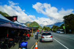 Road  in New Zealand Royalty Free Stock Image