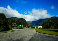 Road  in New Zealand Stock Image