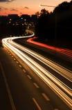 Road at night Royalty Free Stock Photo