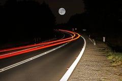 Road at night Stock Image