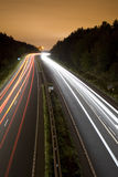 Road at Night Stock Photo