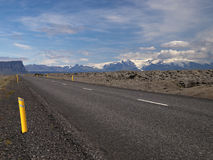 Road no. 1 - Iceland Royalty Free Stock Photo