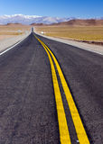 Road in North Argentina Stock Image