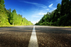 Road in north mountains Royalty Free Stock Image