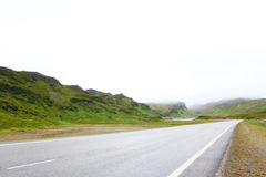 Road in northern Norway Stock Photography