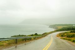 Northern tip of Cape Breton stock photos