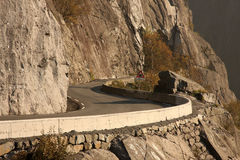 Road in Norway royalty free stock images