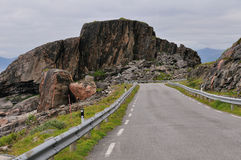 Road in Norway Stock Image
