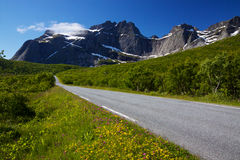 Road in Norway Royalty Free Stock Image