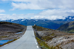 Road in Norway Stock Images