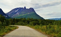 Road In Norway royalty free stock photography