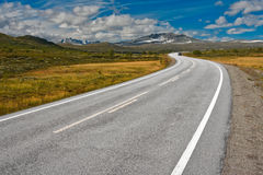 Road in norway Stock Photos