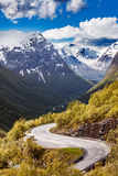 Road in Norway Royalty Free Stock Photo